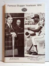 Original 1974 Louisville Slugger Famous Slugger Yearbook- 64 Pages (T-1073)