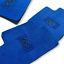 Floor Mats For Rolls Royce Ghost 2010-2019 Blue Carpets Leather Rounds LHD NEW