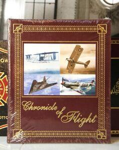 CHRONICLE OF FLIGHT - Easton Press - Walter Boyne - LARGE BOOK - SEALED w/BOX