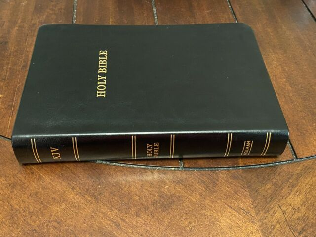 KJV Holy Bible Large Print Black Bonded LeatherTouch King James Version NEW!