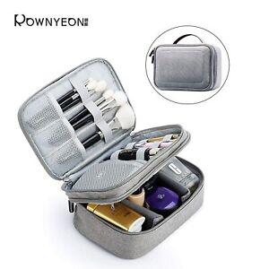 Rownyeon Makeup Train Cases Travel Makeup Bag Waterproof ...