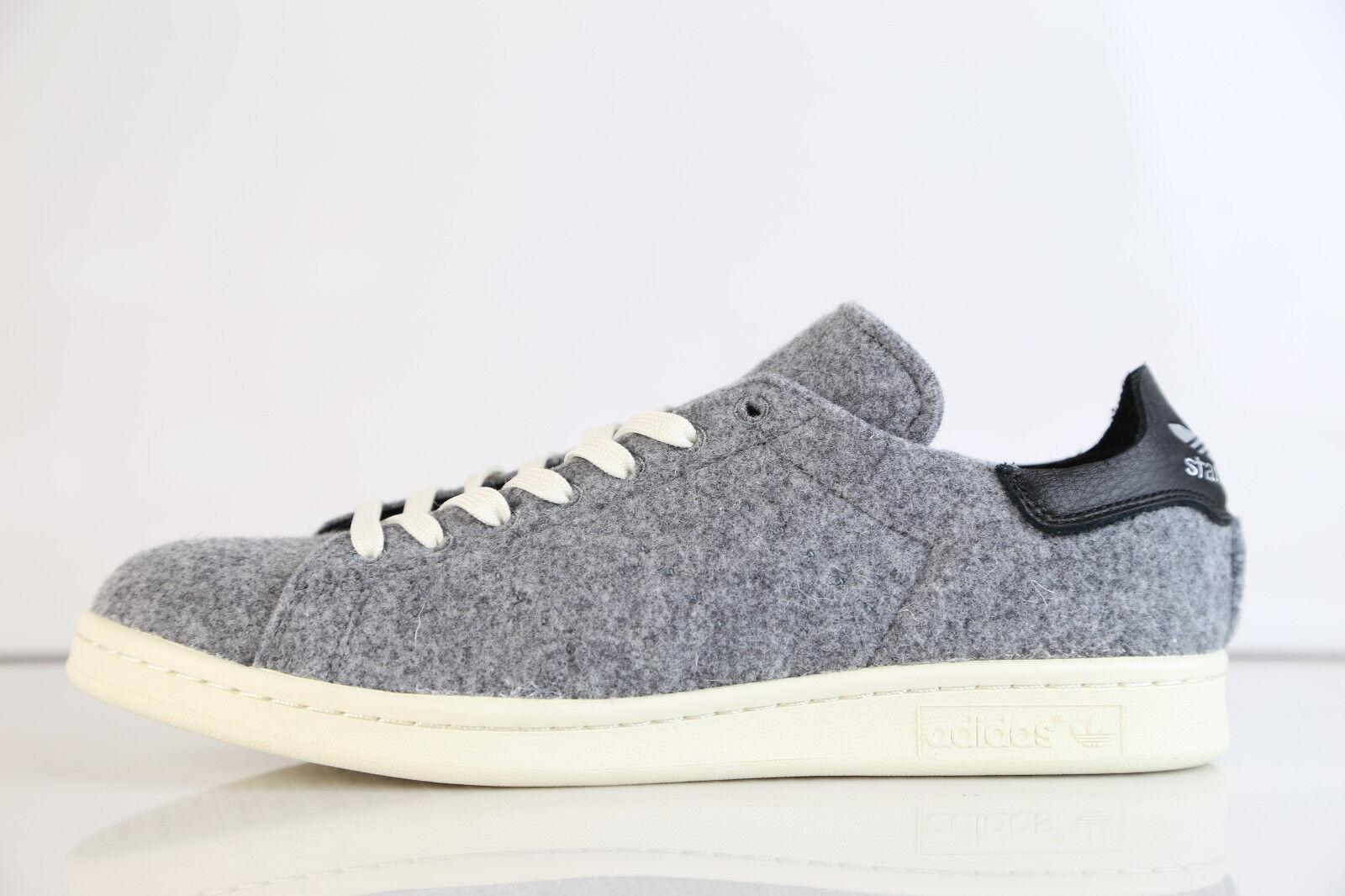 Adidas stan - smith pc wolle grau - stan schwarz aq8452 8 - 13 premium stärken 1 ss 7d500a