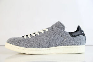 info for 30e5b a90bb Adidas Stan Smith PC Wool Grey Black AQ8452 8-13 premium boost 1 ss ...