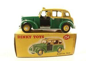 Dinky-Toys-GB-n-254-Austin-TAXI-en-boite