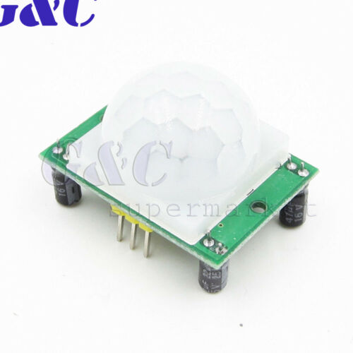 Wireless 6 LED PIR Auto Motion Sensor Light Night Lamp Infrared Detector New