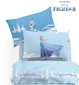 Completo Lenzuola Una Piazza Flanella Caleffi Frozen Neve Ebay