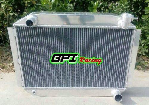 56MM ALUMINUM RADIATOR UP TO 700HP CHEVY CORVETTE 350 V8 M//T 1955-1960 59 58 57