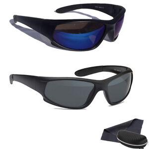 Biker Sonnenbrille Polarisiert Bikerbrille Sport Rad Brille Herren Schwarz Blau fZlqxwv