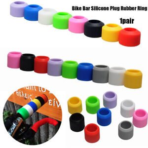 Road-Bicycle-Grips-Bar-Tape-Accessories-Bike-Plug-Rubber-Silicone-Ring