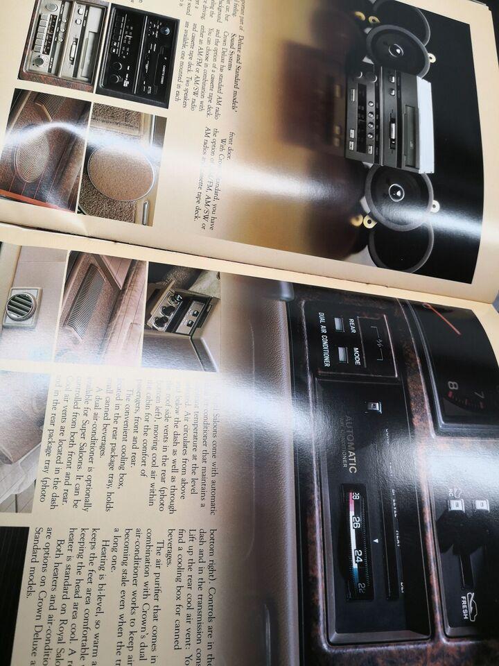 Toyota brochurer, Toyota Crown Brochurer