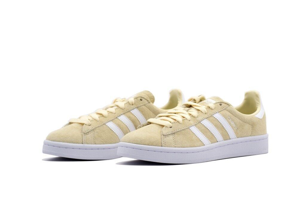 ADIDAS Originals light brand new Sneaker CAMPUS light Originals yellow/linen size 9 us 42.5 eur 1c5cc7