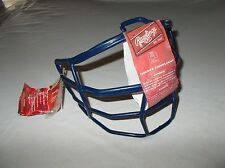 Genuine Rawlings blue replacement NOCSAE compliant softball helmet face guard