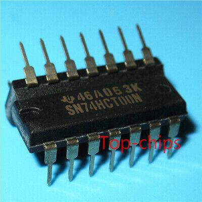 5PCS SN74HCT00N QUADRUPLE 2-INPUT POSITIVE-NAND GATES DIP14