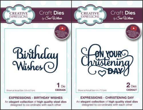 Creative Expressions Sue Wilson Expressions Dies April 2017 Birthday Etc