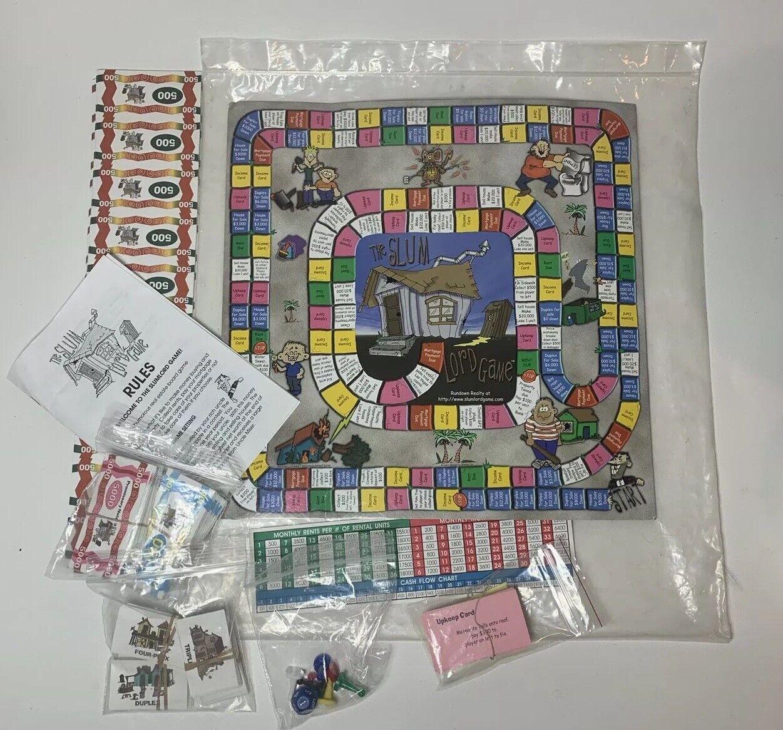 VTG Rundown Realty x  The Slum Lord Game  Rare Board Game 2000