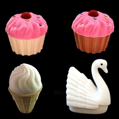 Schmuck Box, Schmuckaufbewahrung Muffin, Schwan oder Eiswaffel