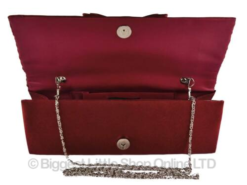 2 no Of in sera argento Leko a Pochette spalla donna da Existencias nuova bordeaux di London da Hay Catena colori pizzo 16gpU