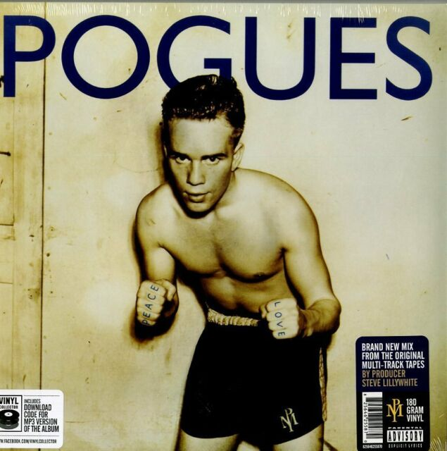 POGUES - PACE AND LOVE -  LP VINILE 180 GRAMMI NUOVO SIGILLATO