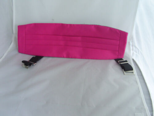 Hot pink self-tie Nœud papillon /& cummerbund set clair instruction-p /& P 2UK /> 1ère classe