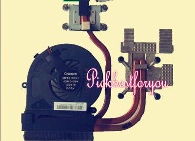 Original for TOSHIBA Qosmio X70 CPU COOLING FAN AND Heatsink MF80150V1-C010-G99