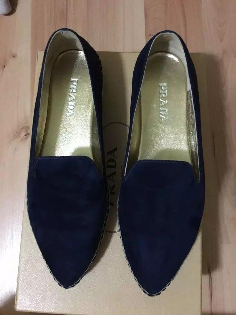 Prada Flats Milano Women's Flats Prada Shoes Size 6.5 8b4baa