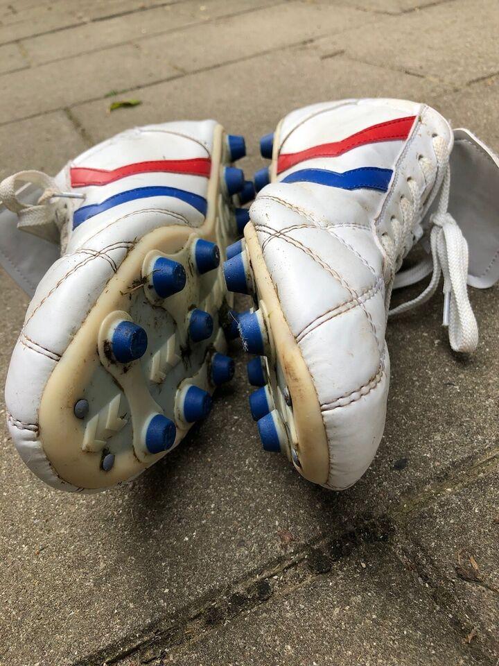 Fodboldstøvler, Hvid læder, Hummel