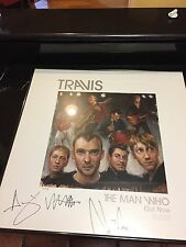 Travis The Man Who autographed and framed poster numbered