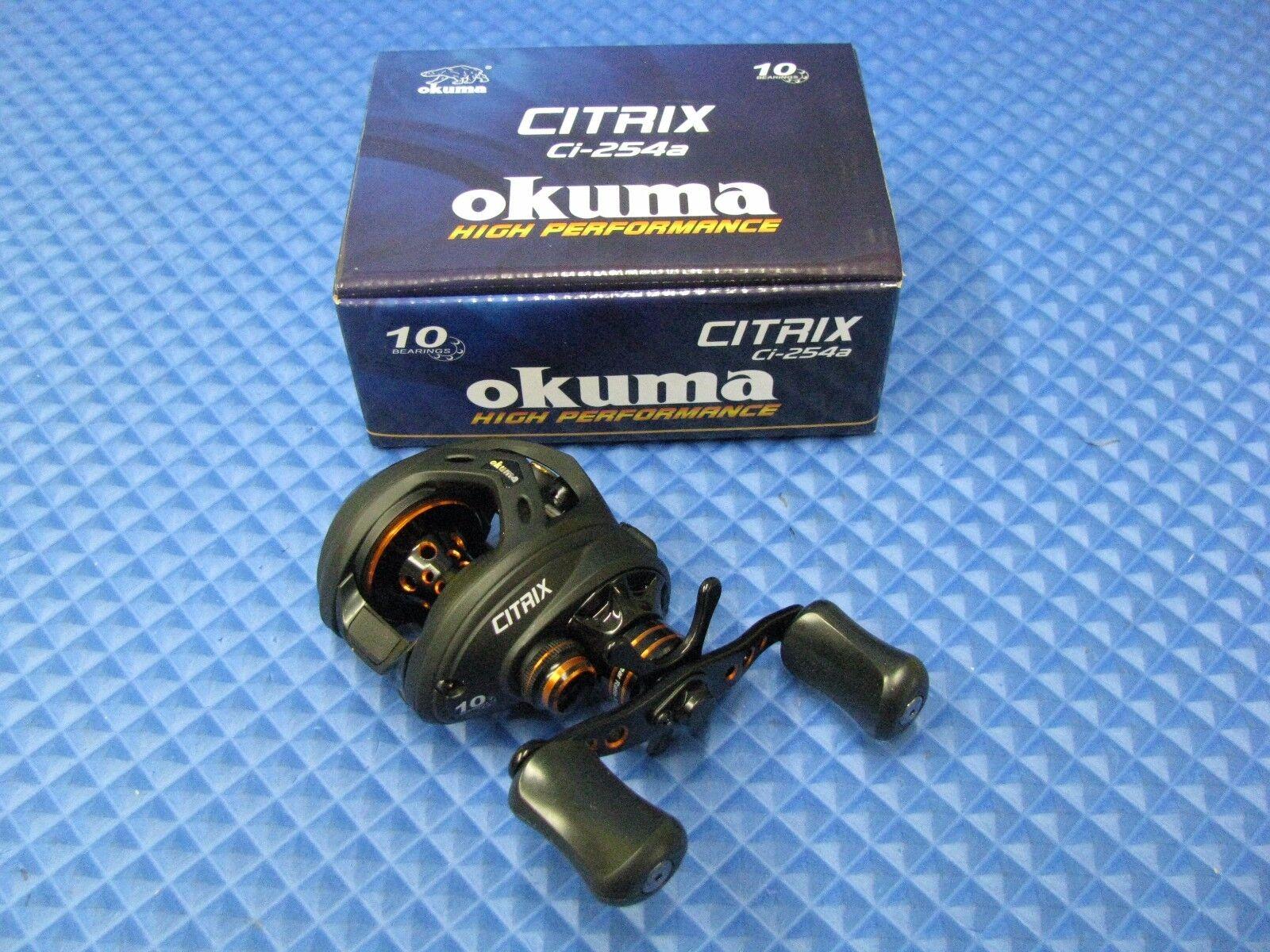 Okuma Citrix bajo perfil Carrete Giratorio Ci-254a