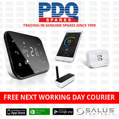 SALUS IT500 INTERNET THERMOSTAT WIRELESS SMART PHONE PROGRAMMABLE HEATING - NEW