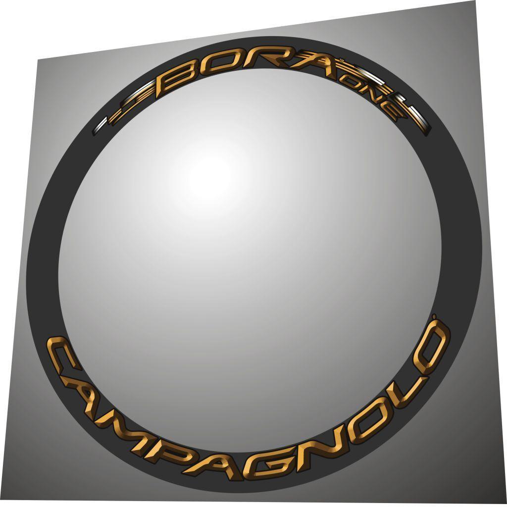 CAMPAGNOLO BORA ONE gold 3D DESIGN  RIM DECAL SET  FOR 2 RIMS  cheap online
