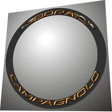 CAMPAGNOLO BORA ONE GOLD 3D DESIGN  RIM DECAL SET FOR 2 RIMS