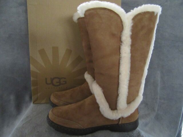 64b8ba1130c UGG Australia Katia Tall Chestnut Brown 9 M 40 Womens BOOTS