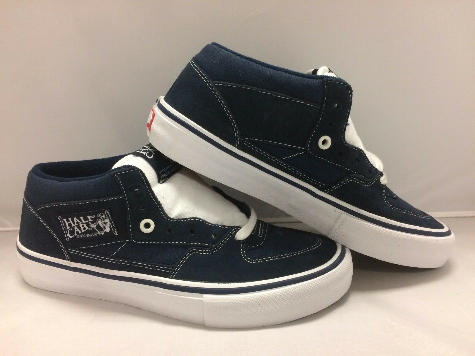 Vans Men's shoes Half Cab''--Dress bluee