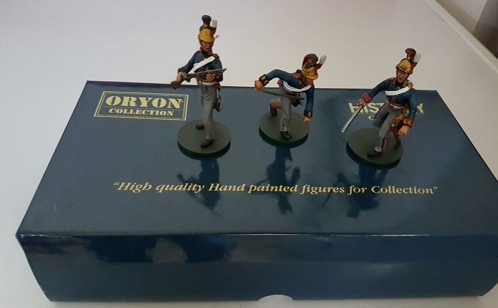ORYON 6024 BRITISH HEAVY CAVALRY HORSE GUARDS NAPOLEONIC WAR TOY SOLDIER SET
