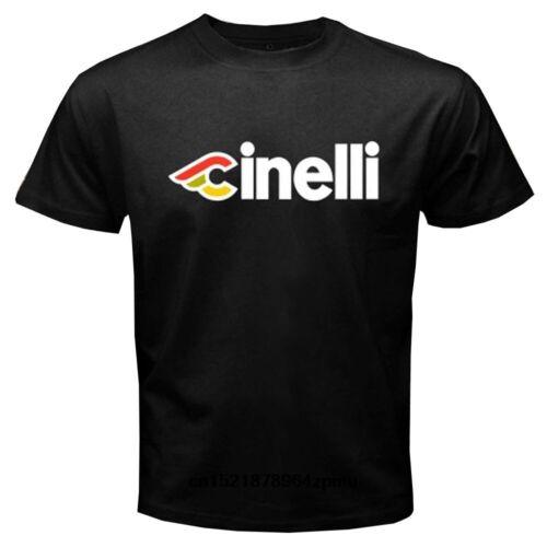 NEU Cinelli T-Shirt Schwarz Größe L
