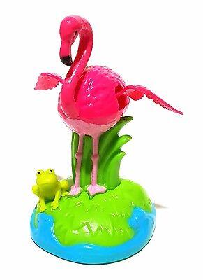 Tanzender Flamingo Vogel Solarfigur Wackelfigur Solar Deko Figur Dekoration Auto Weich Und Rutschhemmend