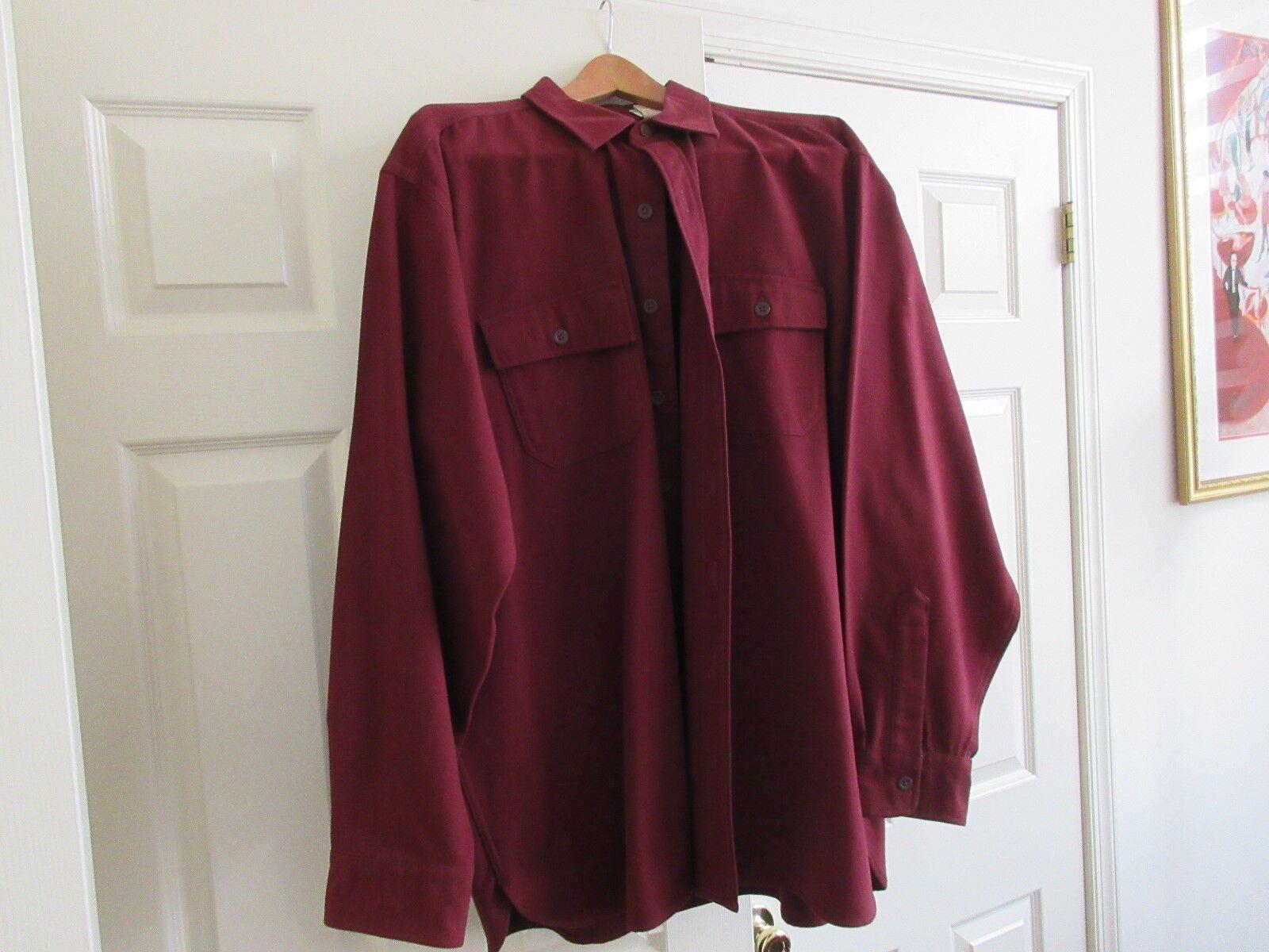 L.L. Bean, Para Hombre Regular, 100%  algodón, Suéter Chaqueta, tamaño XL, Vintage  hasta un 70% de descuento