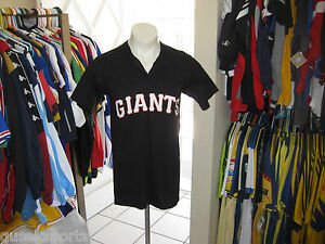 low priced cd0e6 71bc8 Details about S MAJESTIC VTG #5 SAN FRANCISCO GIANTS BASEBALL T SHIRT TOP  49ers USA JERSEY MLB