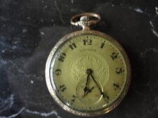 HAMILTON POCKET WATCH - 1922 12S 910 17 JEWELS, GOLD FILLED - RUNS