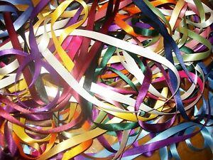 Various Patterns Ribbon Satin 10mm x 2m