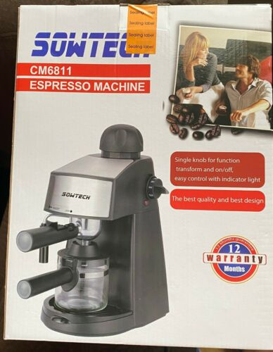 Espresso Machine 3.5 Bar 4 Cup Espresso Coffee Maker Cappuccino Machine