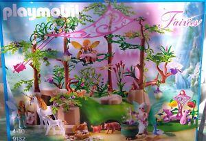 Playmobil 9132-la Foret Magique Des Fees- Super Sympa- Neuf Scelle !