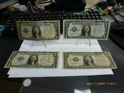 Series 1928 Funny Back $1.00 Silver Certificate /& 1 1 ONE ONE Peace Dollar
