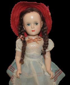 Vintage-Madame-Alexander-Margaret-O-039-Brien-17-75-Inch-Doll