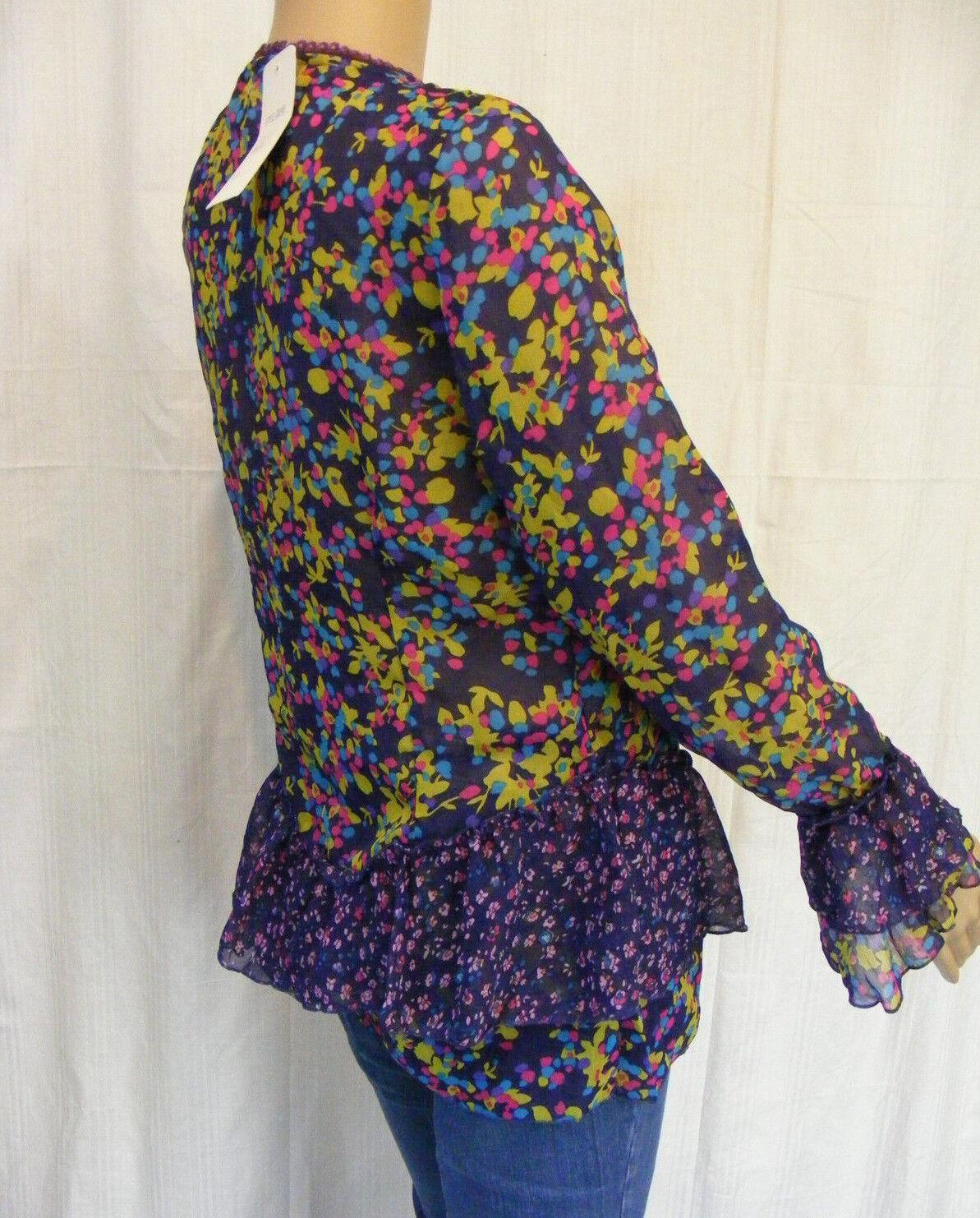 NEW WOMAN   L  lila    Blause   Tunika  3 4-arm  Reine Seide  NEU   Ruf zuerst    Neue Sorten werden eingeführt    Verbraucher zuerst  ff1df4