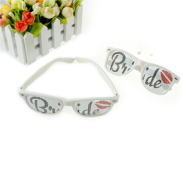 Team Bride Sunglasses Bridal Accessories Bachelorette Party Wedding Supplies HU