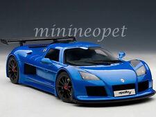AUTOART 71303 GUMPERT APOLLO S 1/18 DIECAST MODEL CAR BLUE