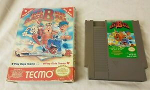 BAD-NEWS-BASEBALL-NES-Nintendo-Game-amp-Box
