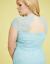 Lane-Bryant-Back-Cutout-Lace-Fit-Flare-Dress-16-18-20-22-24-26-28-1x-2x-3x-4x thumbnail 2
