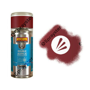 Hycote-Ford-Cardinal-Rouge-Brillant-Spray-Peinture-Enviro-Peut-Tout-Usage-Xd